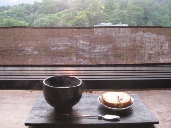 """Im Teehaus """"Die blaue Blume"""" im Bukchon Hanok Village"""