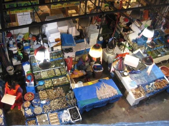 Noryangjin Fischmarkt