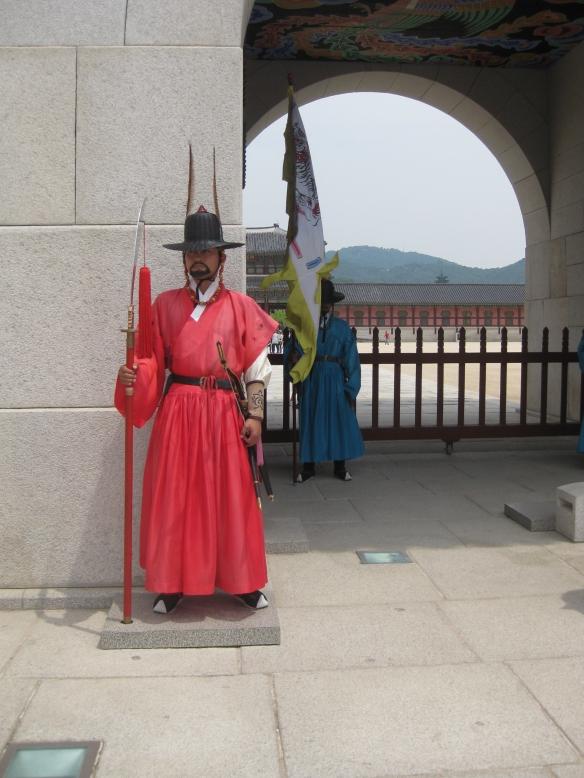 Palastwache beim Gyeongbokgung